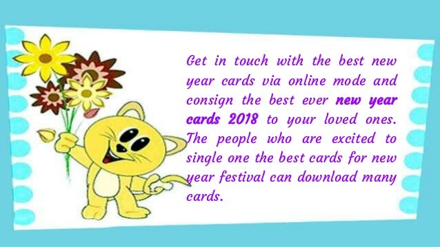 happy new year cards 2018 download readymade handmade and ecards 2