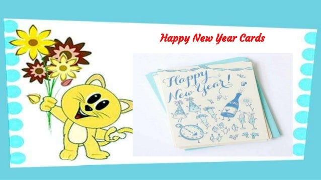 Happy New Year Cards 2018 - Download Readymade, Handmade And eCards