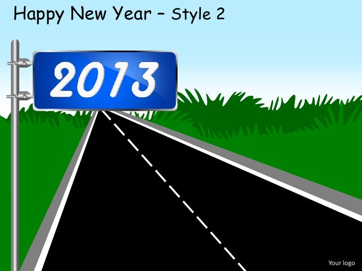 happy new year style 2 your logo
