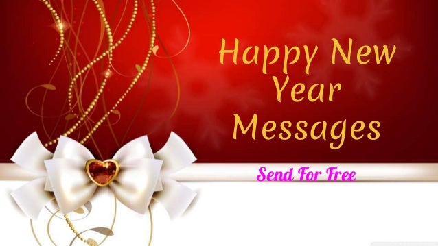 happy new year messages send for free