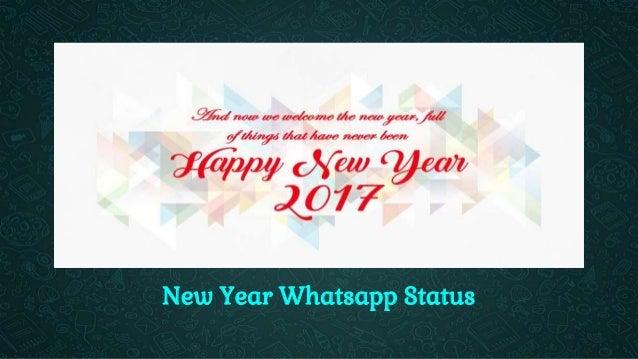 Happy New Year Whatsapp Status Put The Best Status Ever