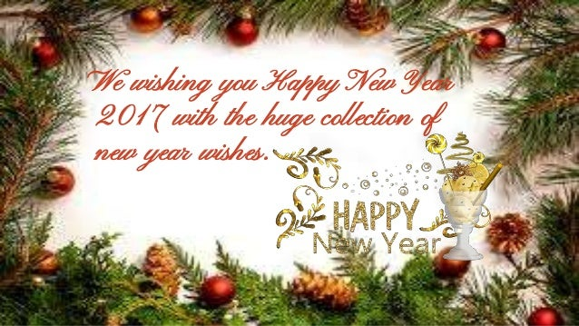 we wishing you happy new year