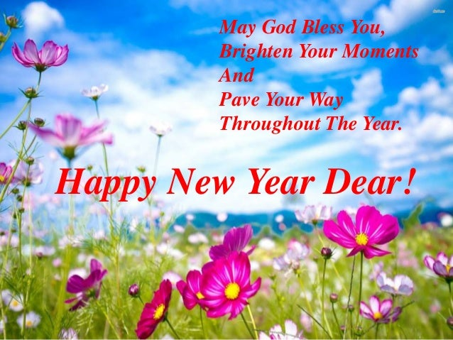 wish you a happy new year 4