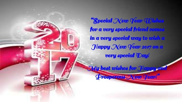 wishing you all good things on this new year