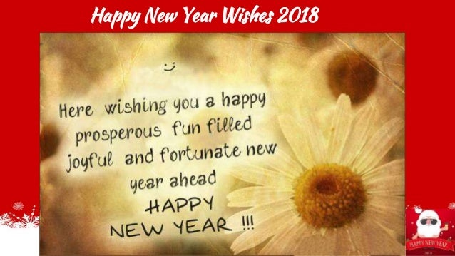 Happy New Year Wishes 2018 ...