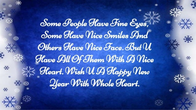 wish u a happy new year with whole heart 5