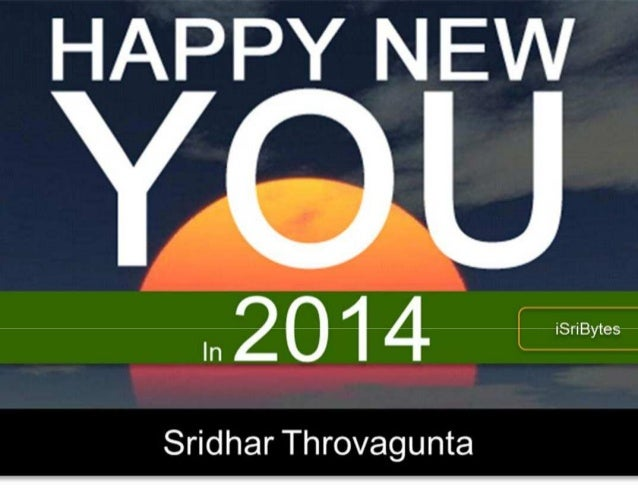 Happy new you in 2014!