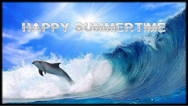 Happy Summertime Slide 3