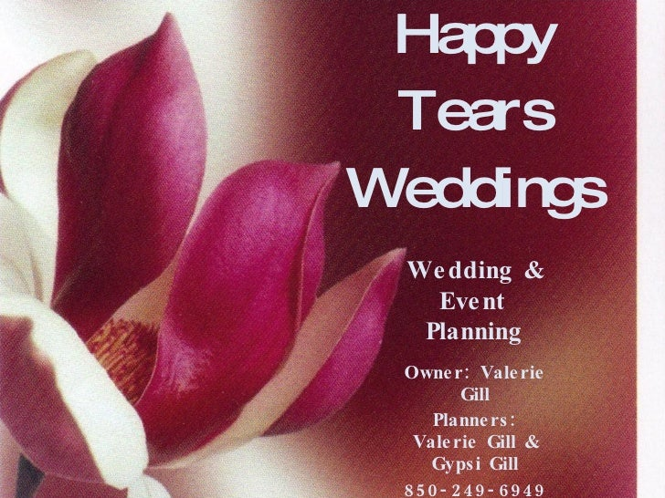 Happy Tears Weddings