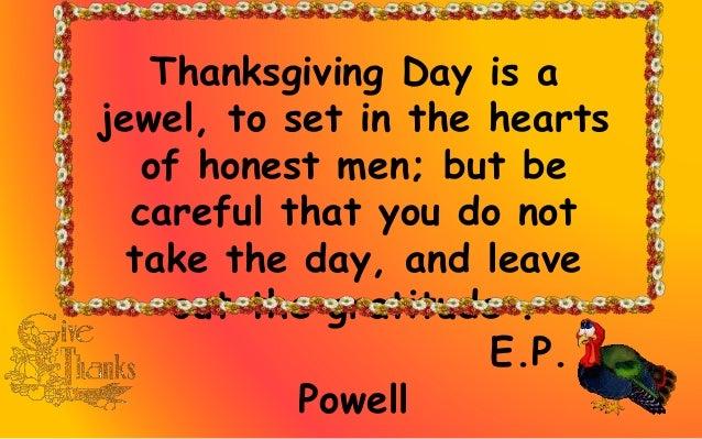 Happy Thanksgiving Slide 3