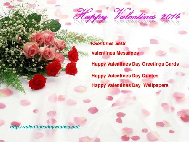 Happy valentines day sms greetings cards 2014