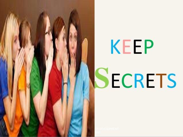 KEEP SECRETS HEAD - SCHOOL OF CAREER DEVELOPMENT & PLACEMENT