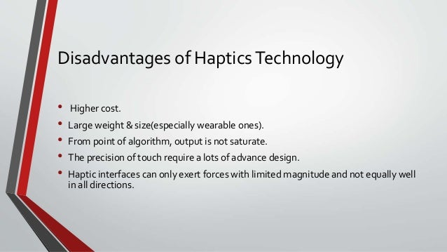 haptic technology conclusion Coconut tree climbing and cutting robot by introducing a haptic device   nowadays more researchers are working on haptics technology   conclusion.
