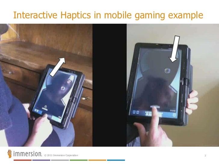 Haptics for android