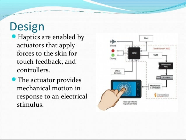 haptic technology conclusion Haptic technology has made it possible to investigate how the human sense of touch works by allowing the creation of conclusion: - advances in.
