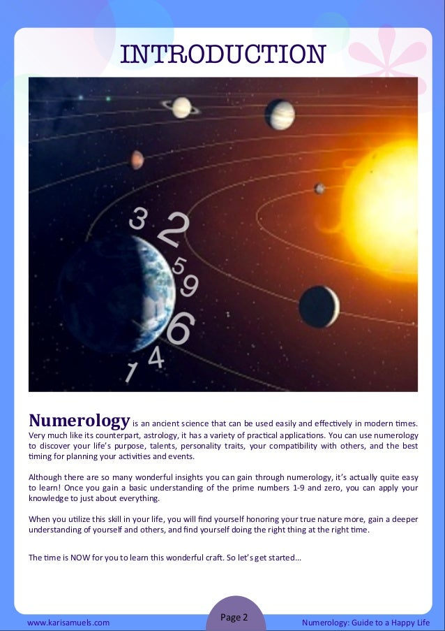Numerology guide to a happy life ebook 2 fandeluxe Epub