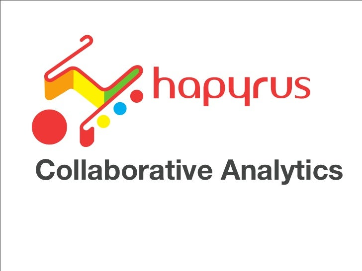 Collaborative Analytics