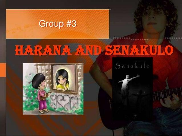 Group #3 Harana And Senakulo