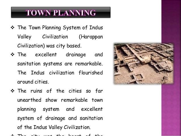 Harappan civilization for House drainage system ppt