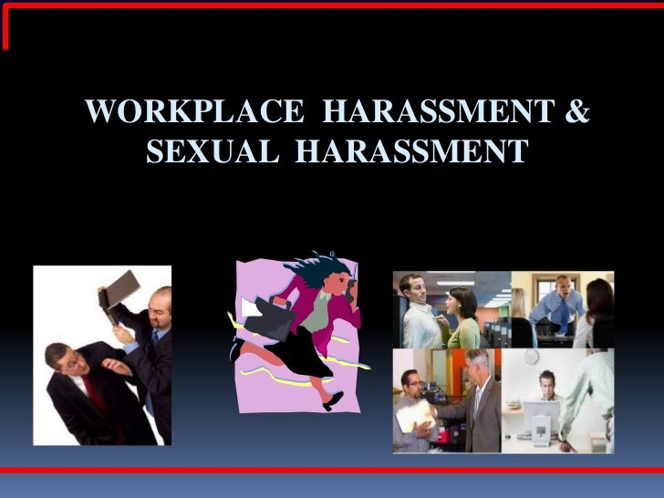 Harassment in the Workplace - Wisconsin Department of.