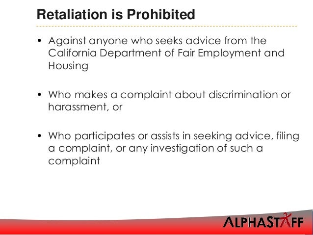 discrimination harassment Harassment harassment is a form of employment discrimination that violates title vii of the civil rights act of 1964, the age discrimination in employment act of 1967, (adea), and the.