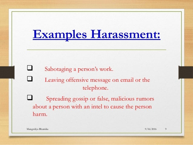 Harassment And Exploitation Of Workplaceumika