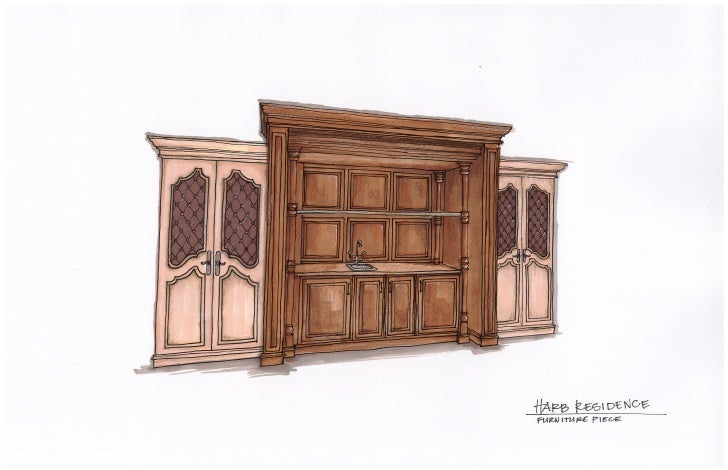 Harb Furniture Piece Rendering