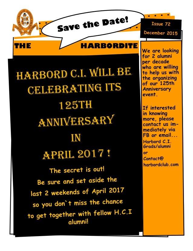THE HARBORDITE