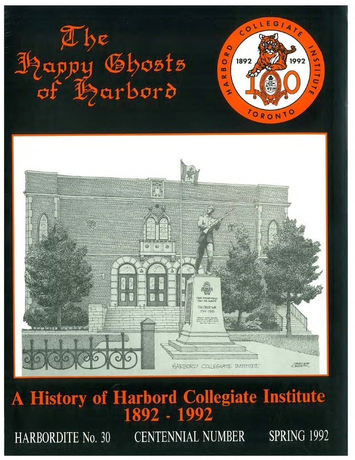 The Happy Ghosts of Harbord - Harbordite No. 30