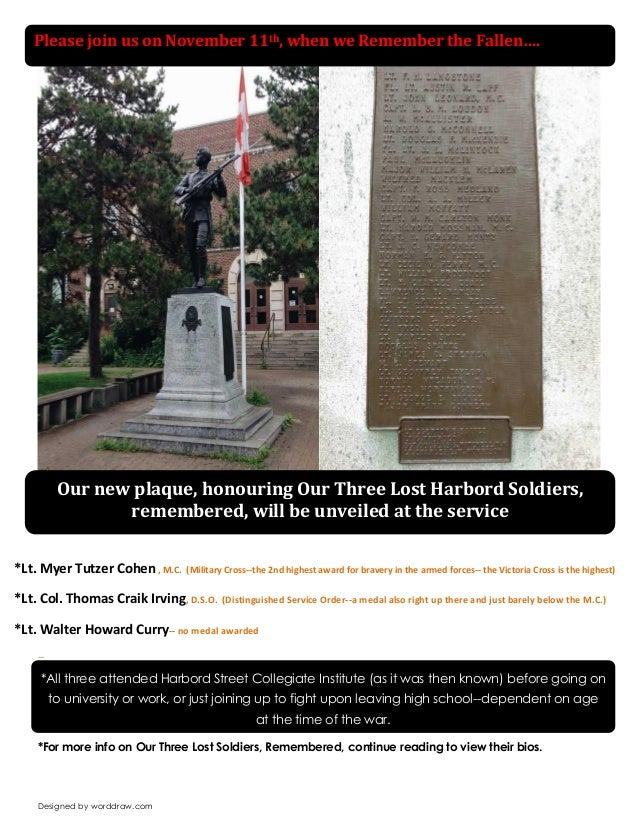 Designed by worddraw.com  --  *For more info on Our Three Lost Soldiers, Remembered, continue reading to view their bios. ...