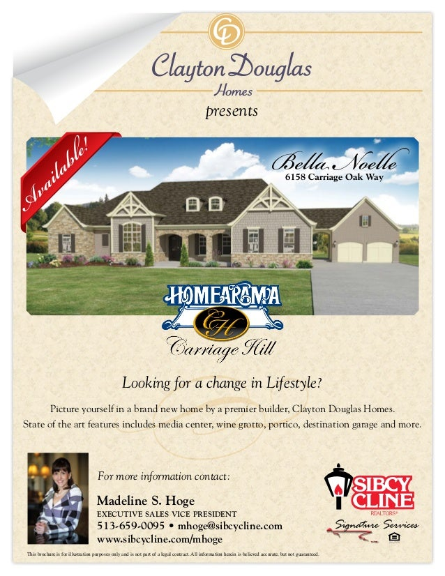 presents Picture yourself in a brand new home by a premier builder, Clayton Douglas Homes. State of the art features inclu...