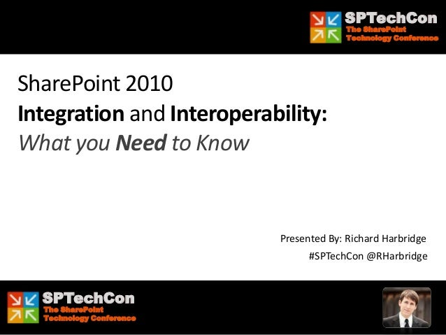 SPTechCon                                           The SharePoint                                           Technology Co...
