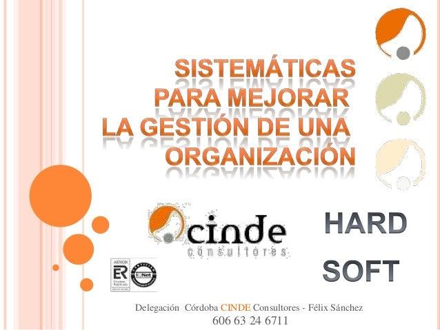 Delegación Córdoba CINDE Consultores - Félix Sánchez  606 63 24 6711