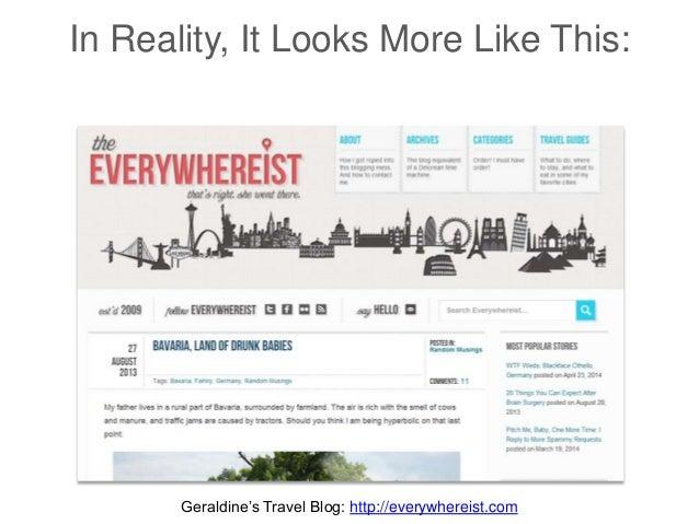 In Reality, It Looks More Like This: Geraldine's Travel Blog: http://everywhereist.com