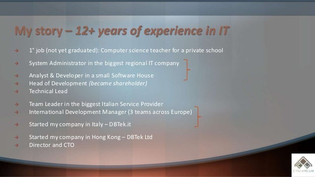 Hard and Soft skills: be successful in the IT market Slide 3