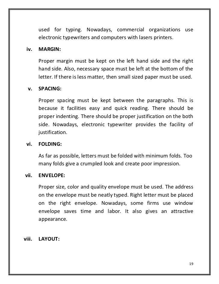 Proper Spacing For A Business Letter from image.slidesharecdn.com