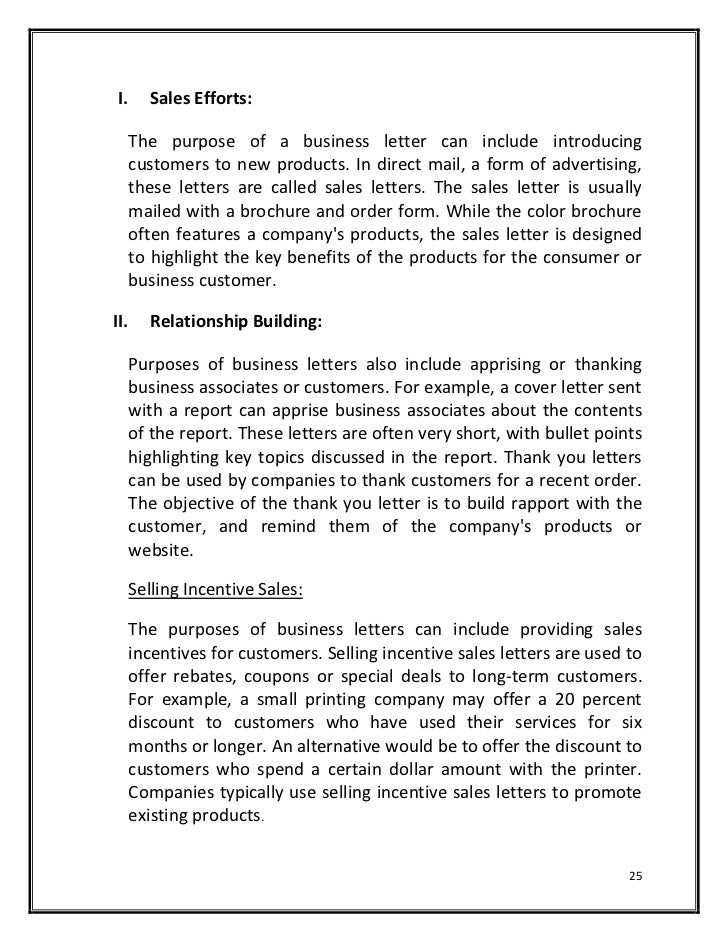 Business Letter To Offer Products - Business Letter 2017