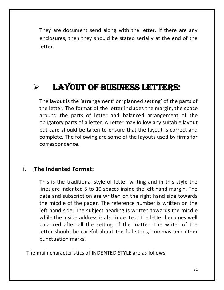 Enclosures: 30; 31. They Are Document Send Along With The Letter.