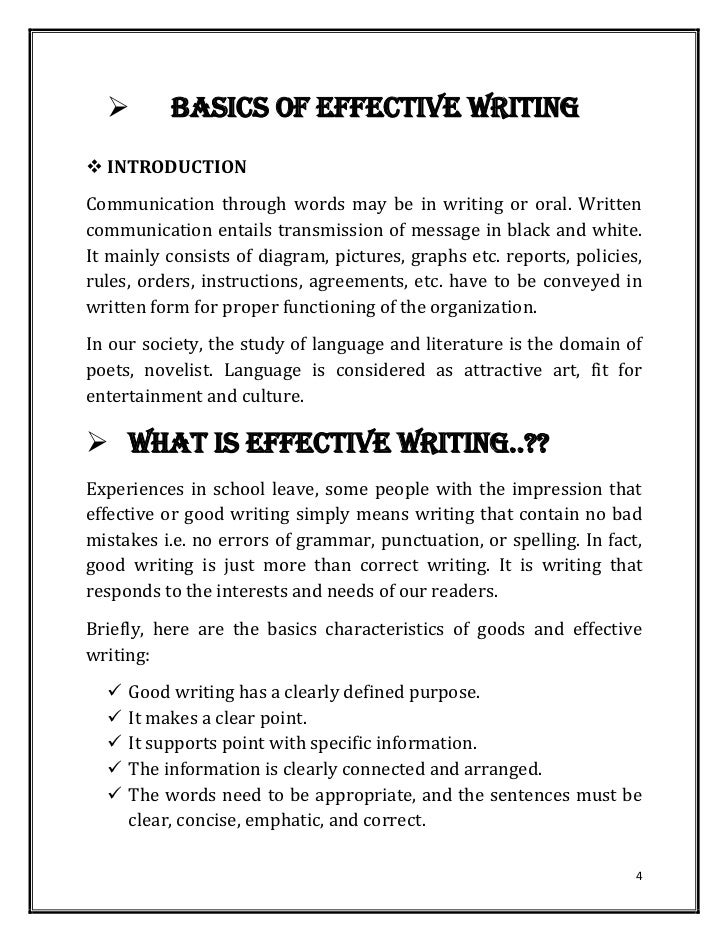 Business writing fundamentals for kids