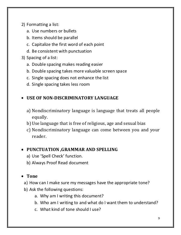 Beautiful Important Points Are Not Overlooked 8; 9. 2) Formatting ...