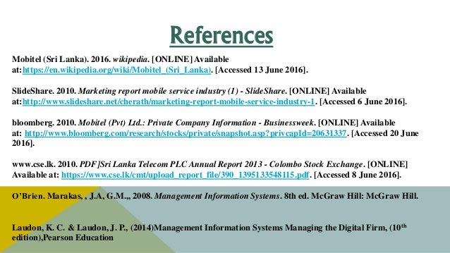Business Environment of Sri Lanka Telecom Plc