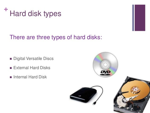 different types of hard disk pdf