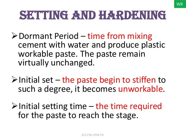 Cement Setting Time : Initial setting time of cement driverlayer search engine