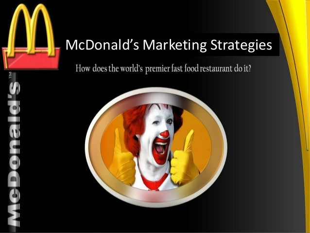 "the category strategy project mcdonald s and Mcdonald's follows strategy of product adaptationmcdonald's slogan ""think globally and act locally"" is the best examplethe best example for mcdonald's adaptation strategy will be indiamcdonald's cannot use beef tallow to fry the fries and burger cutlets (cows are sacred due to religious belief of hindu's)bacon cannot be used."