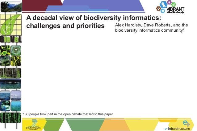 ViBRANT                                                                                           Virtual Biodiversity  A ...