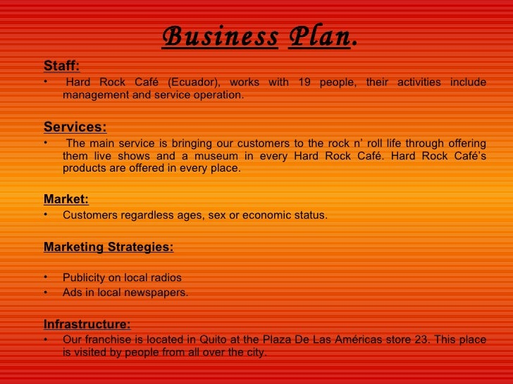 hard rock cafe business strategy