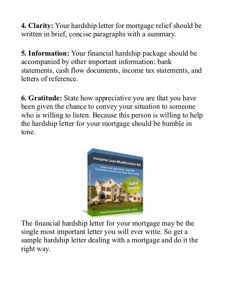 3 4 clarity your hardship letter for mortgage