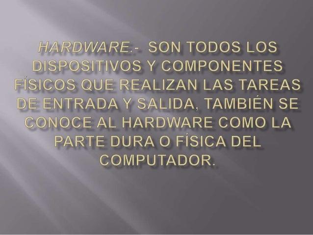 Hardware Slide 2