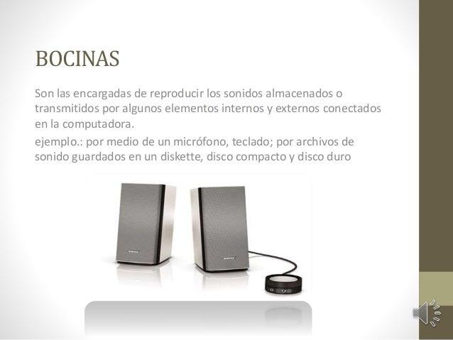 AURICULARES  Dispositivos colocados en el oído para poder escuchar los sonidos que  la tarjeta de sonido envía. Presentan ...