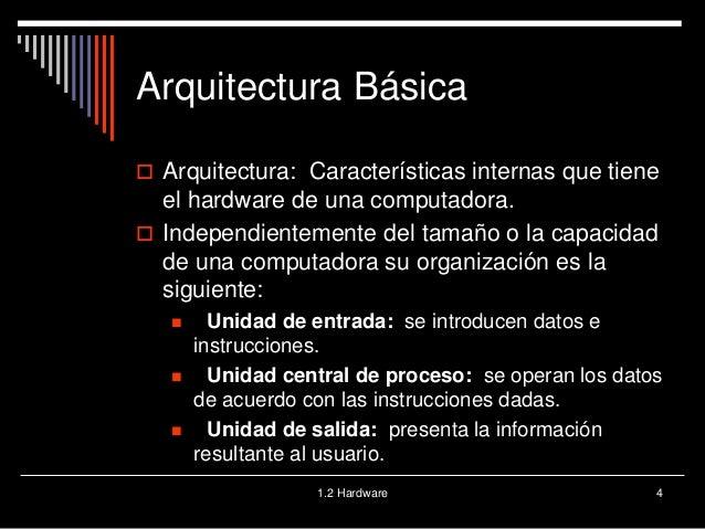 Arquitectura hardware for Arquitectura hardware
